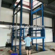 Jinan Hontylift Outdoor hydraulic cargo lift freight elevator for construction